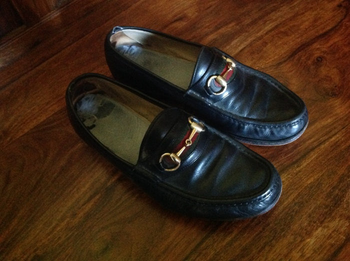 Gucci loafers, yah?