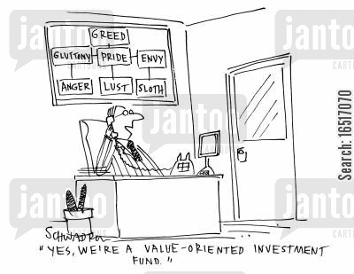'Yes, we;re a value-orientated investment fund.'