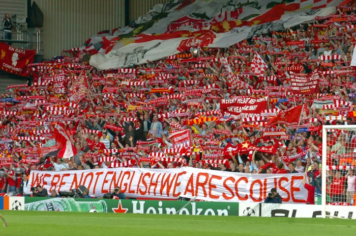 'We're not English We Are Scouse'